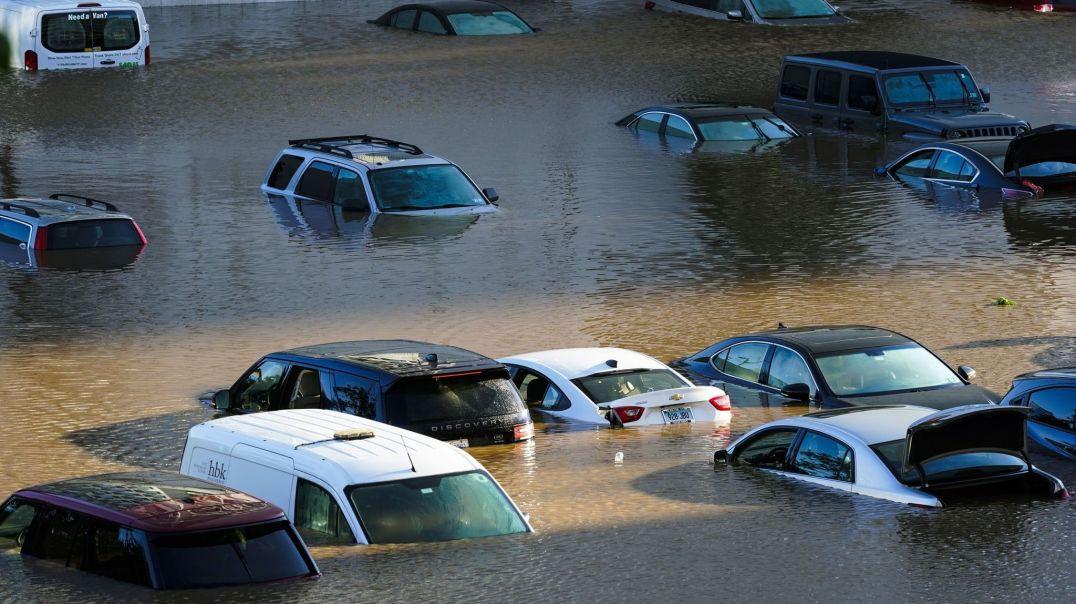 Tropical Storm Ida causing major flooding in New York City