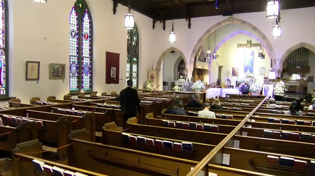 Michael K. Williams funeral at St. Stephen's Episcopal Cathedral